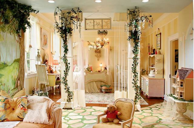 Детские комнаты в стиле прованс, детская прованс