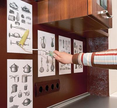 Оформление интерьера кухни идеи