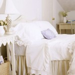 дизайн спален с белой мебелью