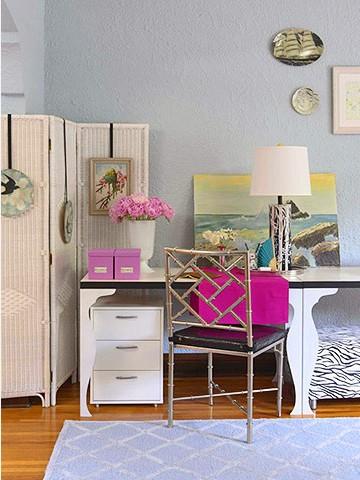 Дизайн длинной маленькой комнаты